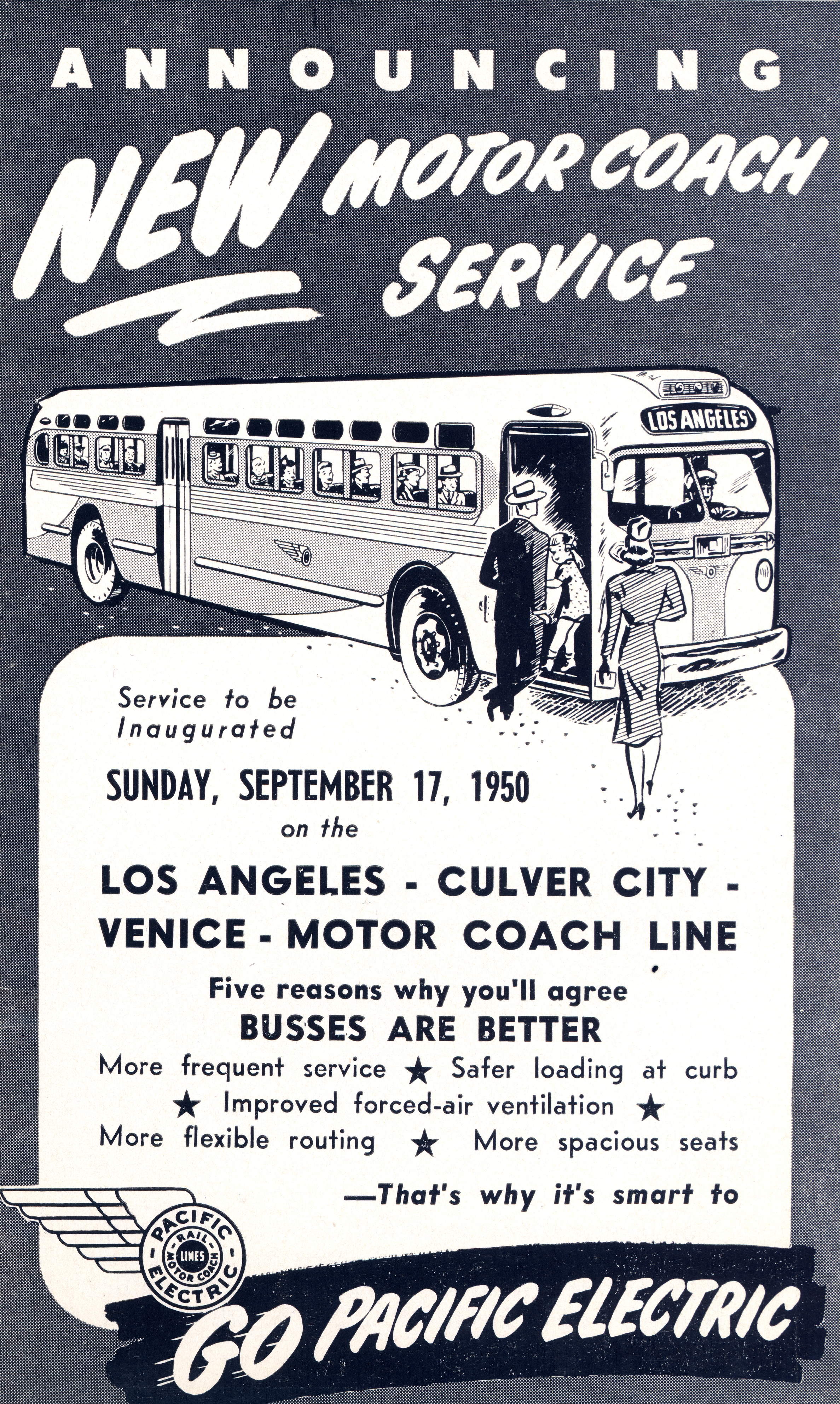 Pacific Electric - 1950