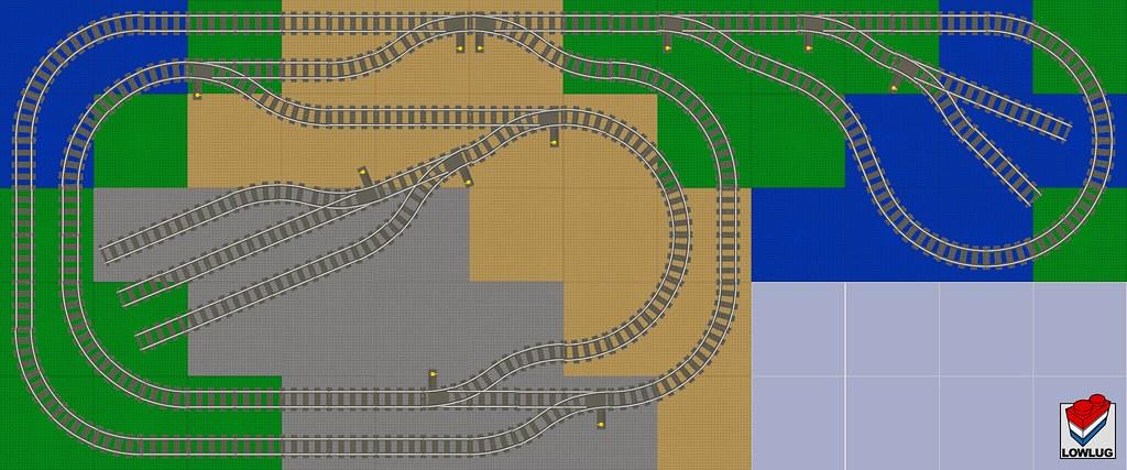 Lego Train Layout Design 1 My Freshly Built Lego Room