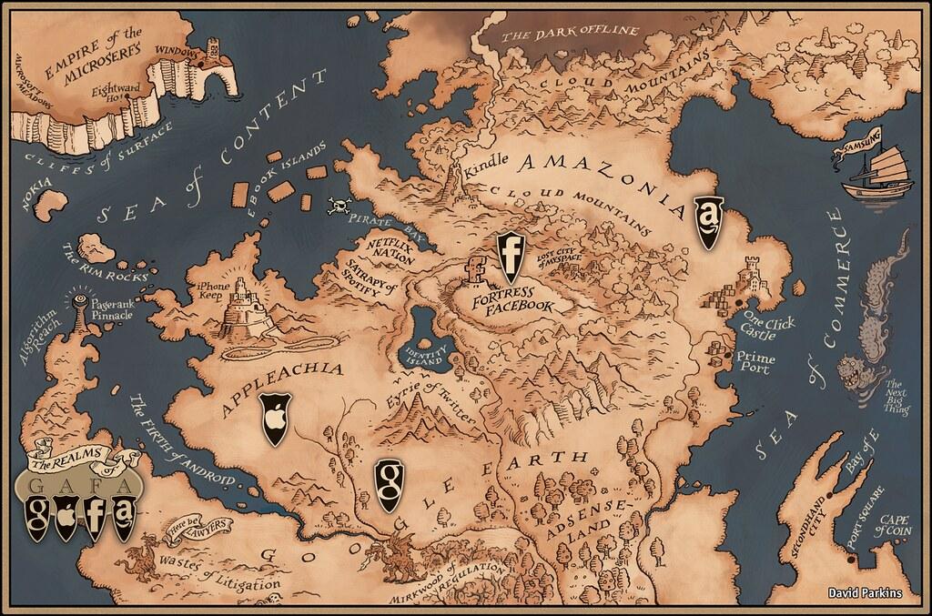 Apple Achia Amazon Ia Fortress Facebook And Google Earth