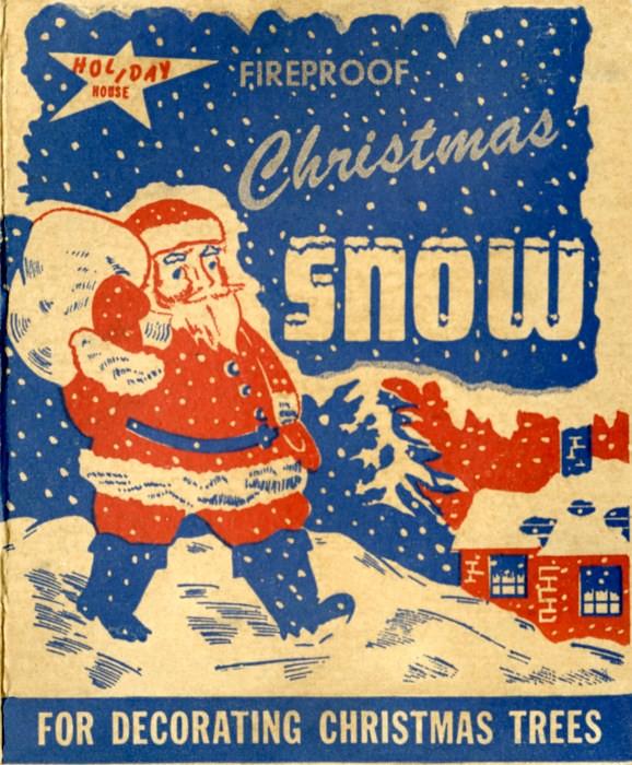 Fireproof Christmas Snow For Decorating Christmas Trees