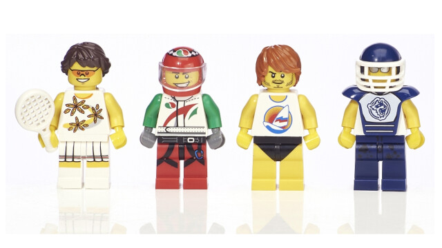 LEGO Minifigure Collection Toys R Us - Athletes minifigs