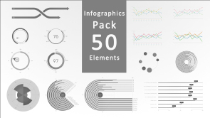 Infographic Pack 50 Elements 590x332 (0;00;00;00)