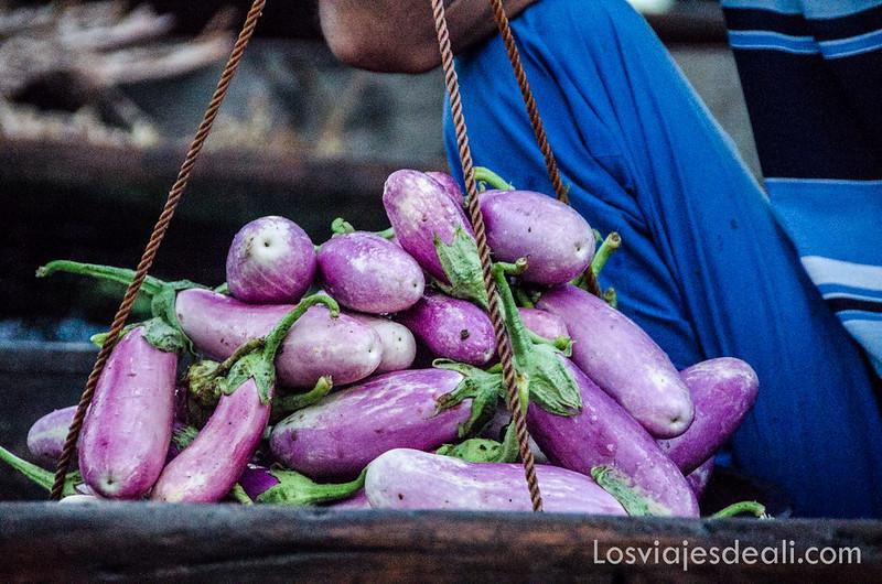 mercado flotante de Srinagar