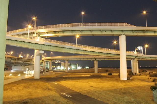 関西空港道 りんくうJCT (2)