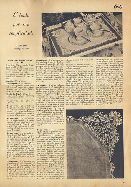 Lady, Nº 5, Fevereiro 1957 - 70