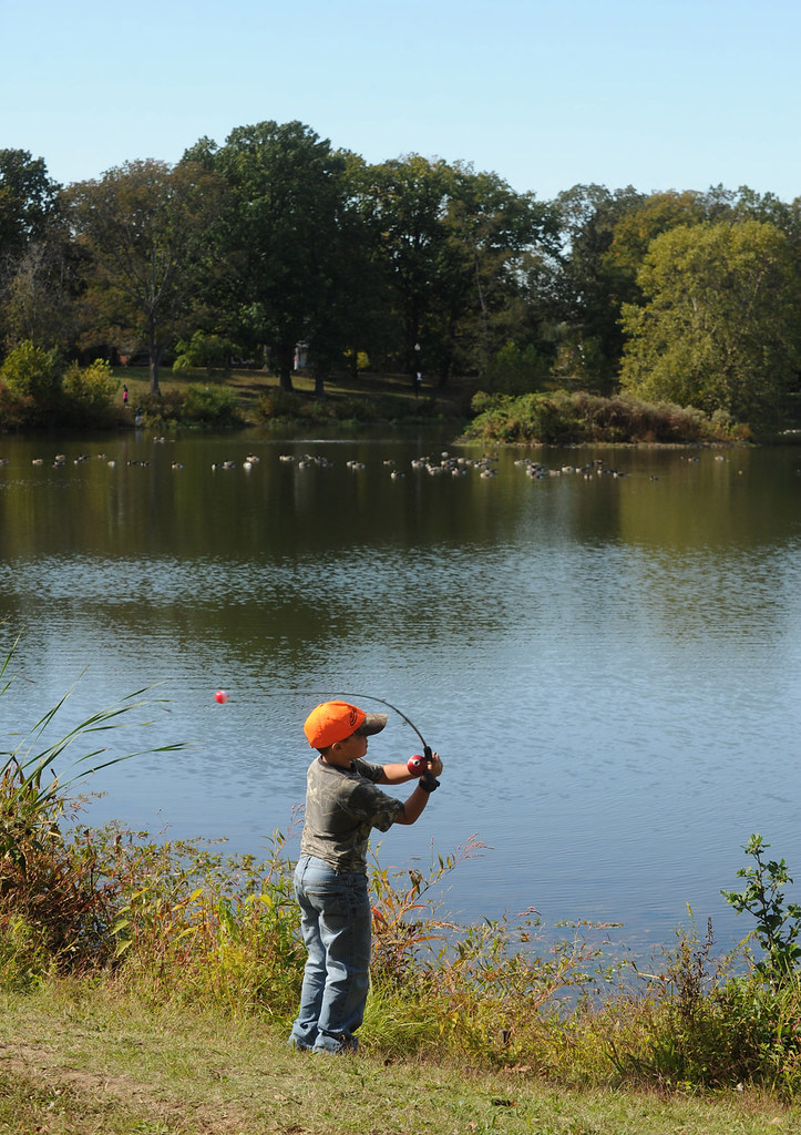 Annual Youth Fishing Rodeo brings nearly 100 kids to Burba ...