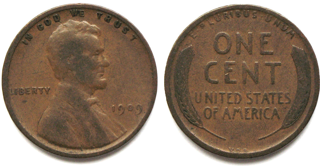 The First Coin On Mars Vdb 1909 Lincoln Penny Read The
