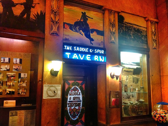 The Saddle and Spur