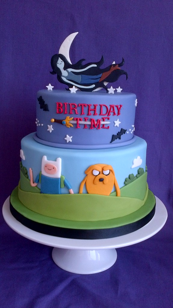 Cake Design Adventure Time : Adventure Time This is a 21st birthday cake for my ...
