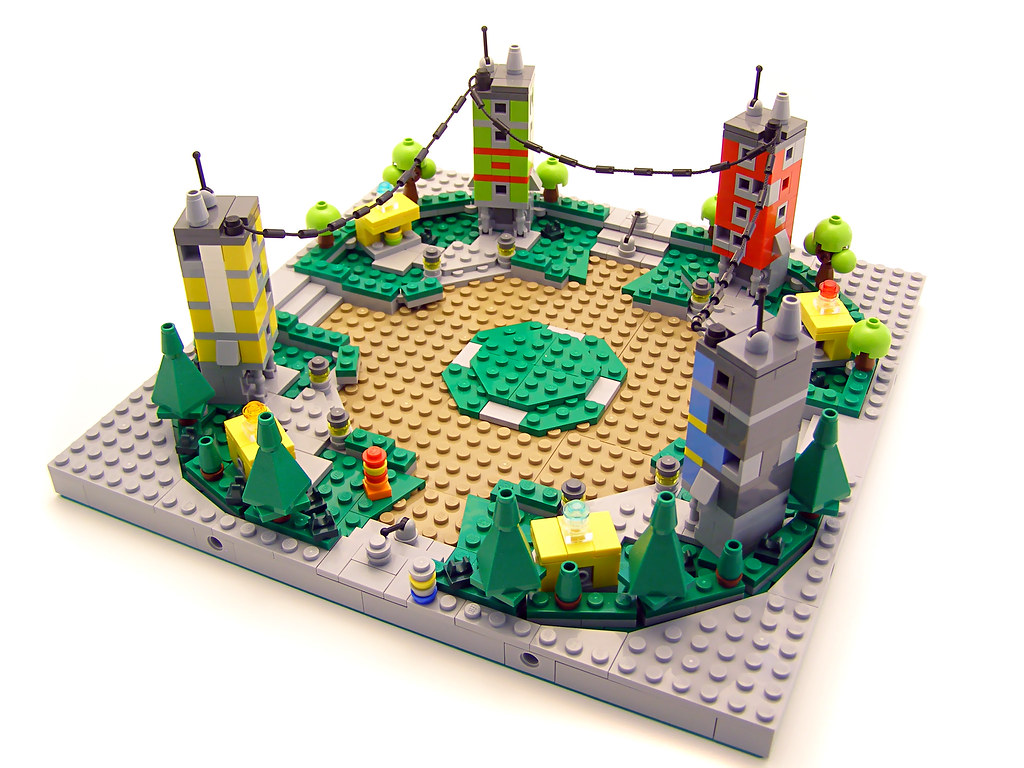 Lego Universe Nimbus Plaza 01 Commissioned Models For