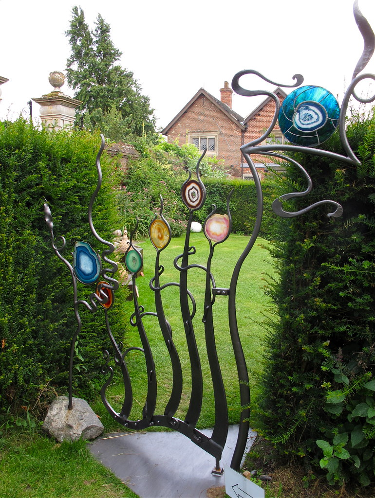 Vitrail Decor Jardin
