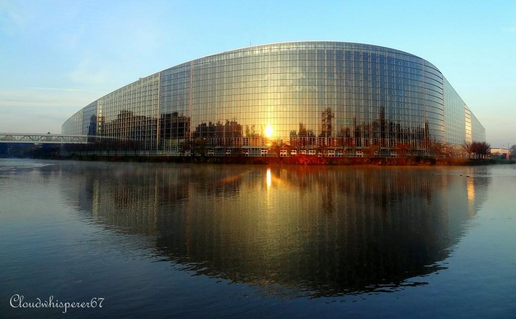european parliament by day strasbourg france european p flickr. Black Bedroom Furniture Sets. Home Design Ideas