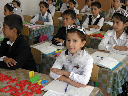 Classroom in rural Uzbekistan | by World Bank Photo Collection
