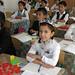 Classroom in rural Uzbekistan