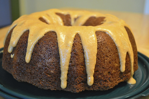 Pumpkin Bundt Cake With White Cake Mix