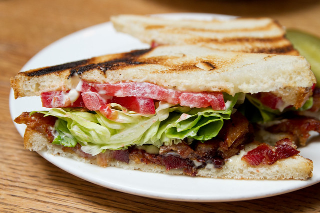 Bacon Lettuce Tomato Flickr Photo Sharing