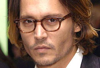 Johnny Depp glasses fr... Johnny Depp