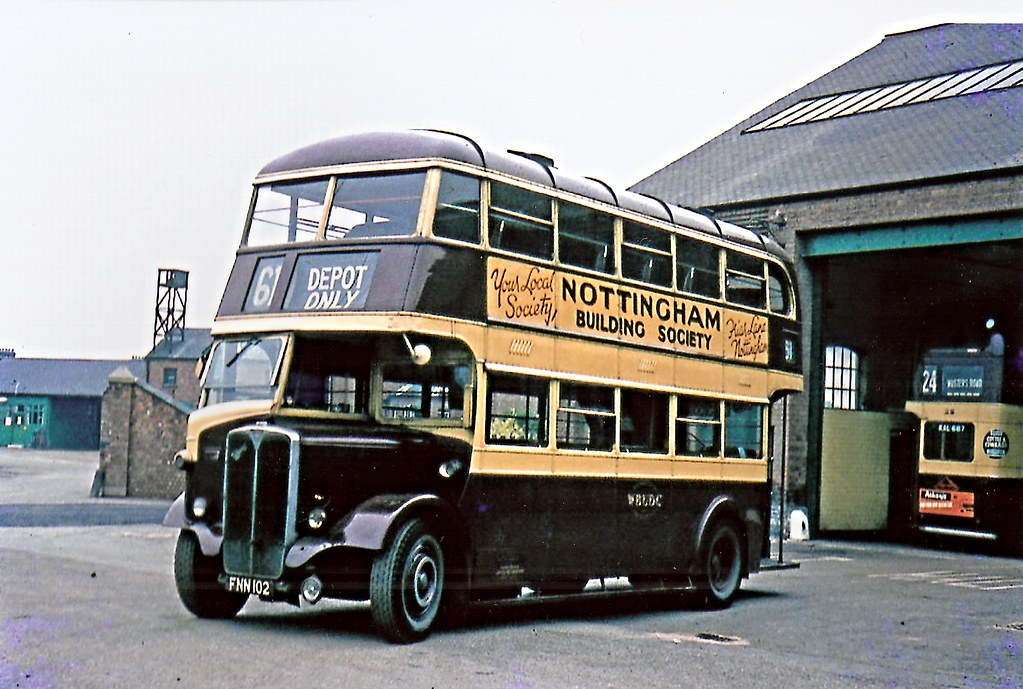 By West Bridgford Udc 4 Aec Regent Park Royal Enn 102 By