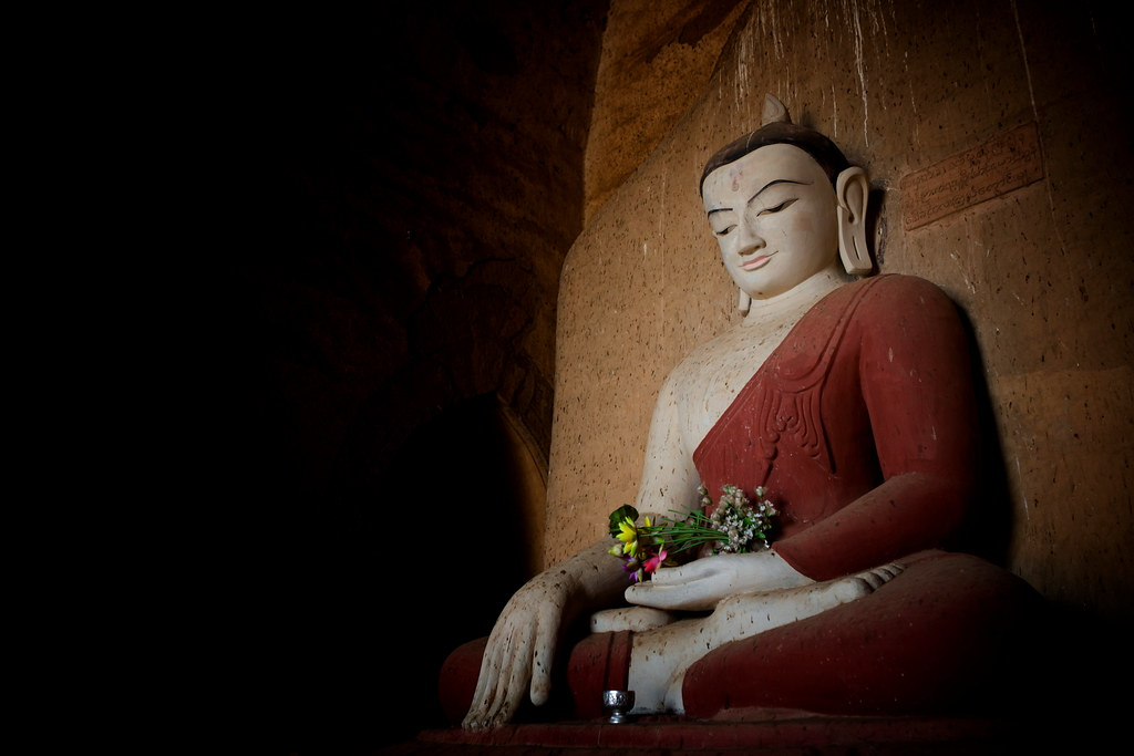 The Buddha In Bagan, Burma