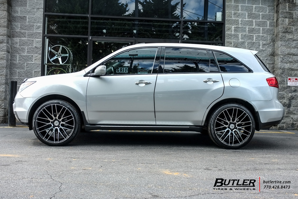 Acura MDX With In Savini BM Wheels And Pirelli Scorpio Flickr - Acura mdx tires