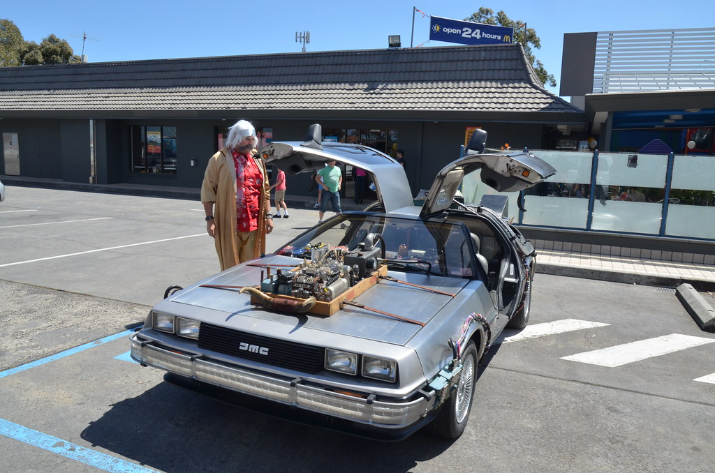 how to get the keys in back to the future