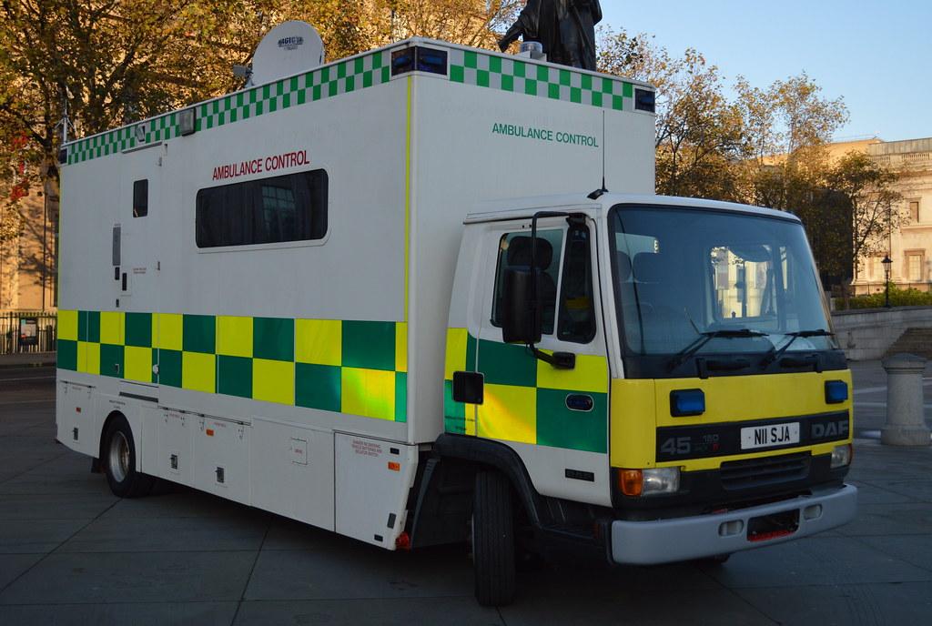 London Vehicle Finder >> St John Ambulance / DAF 45.150 / Ambulance Control Unit / … | Flickr