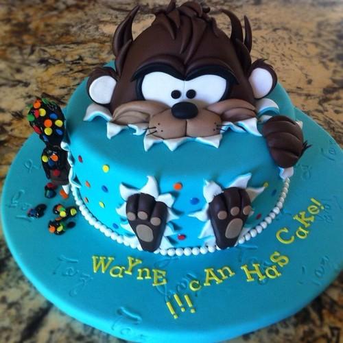 Baby Tasmanian Devil Cake