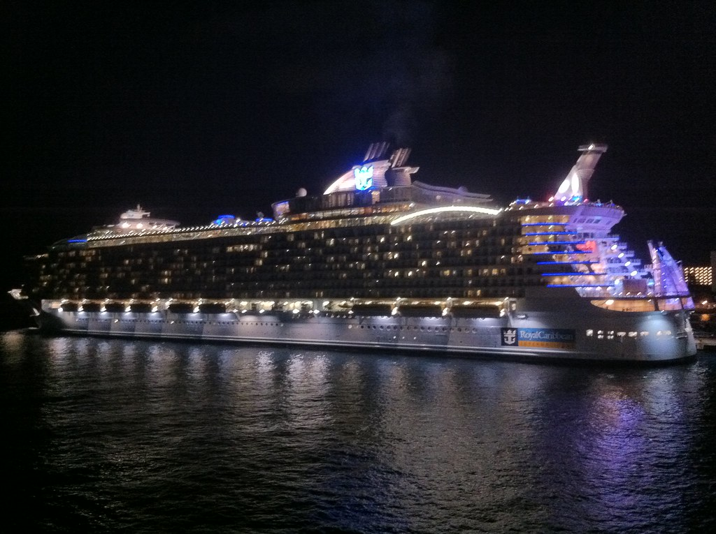 Allure of the seas leaving cozumel at night tom bechtel flickr - The allure of the modular home ...