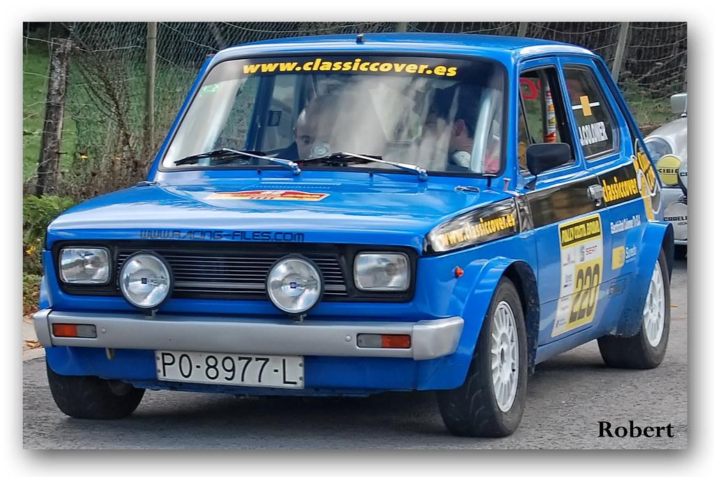 1979 Seat 127 Seat 127 Abarth De 1979 En El 60 186 Rally