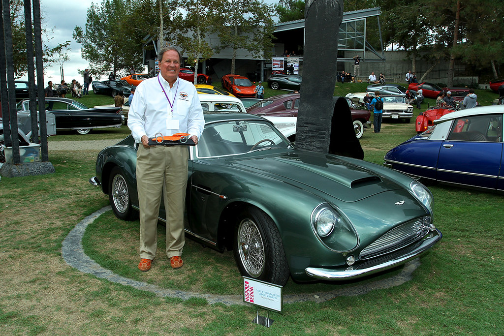 David Sydorick S 1961 Aston Martin Db4gt Zagato Art