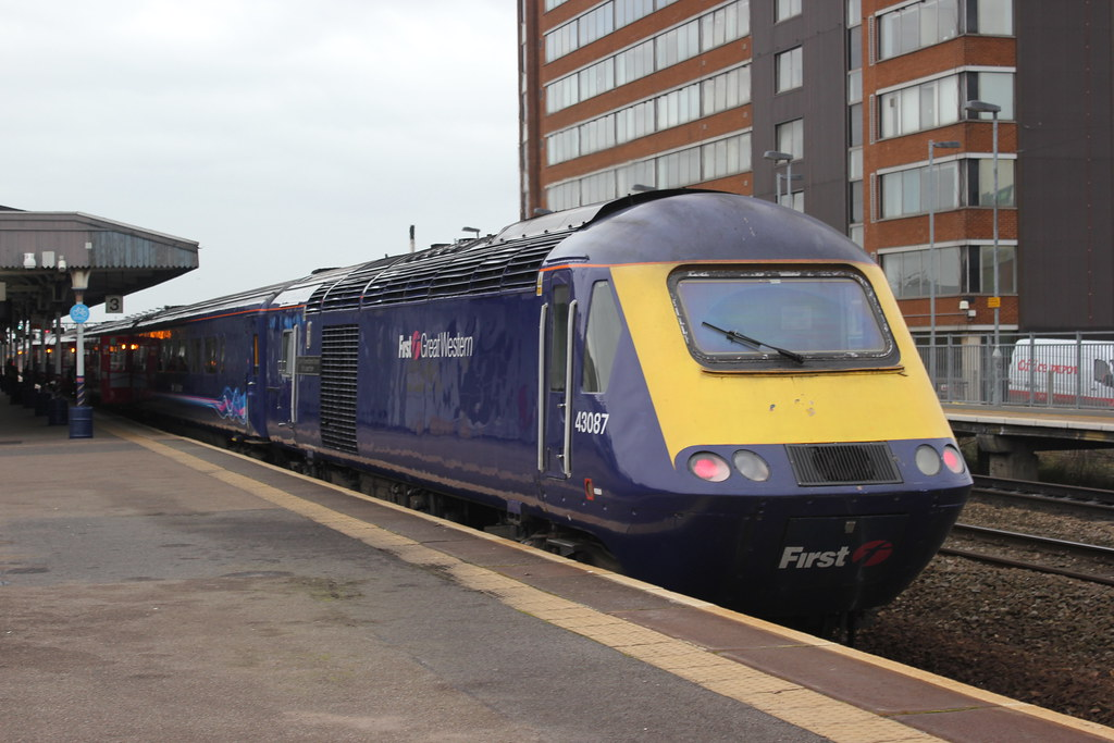 First Great Western 43087 Swindon Station Friday 09t