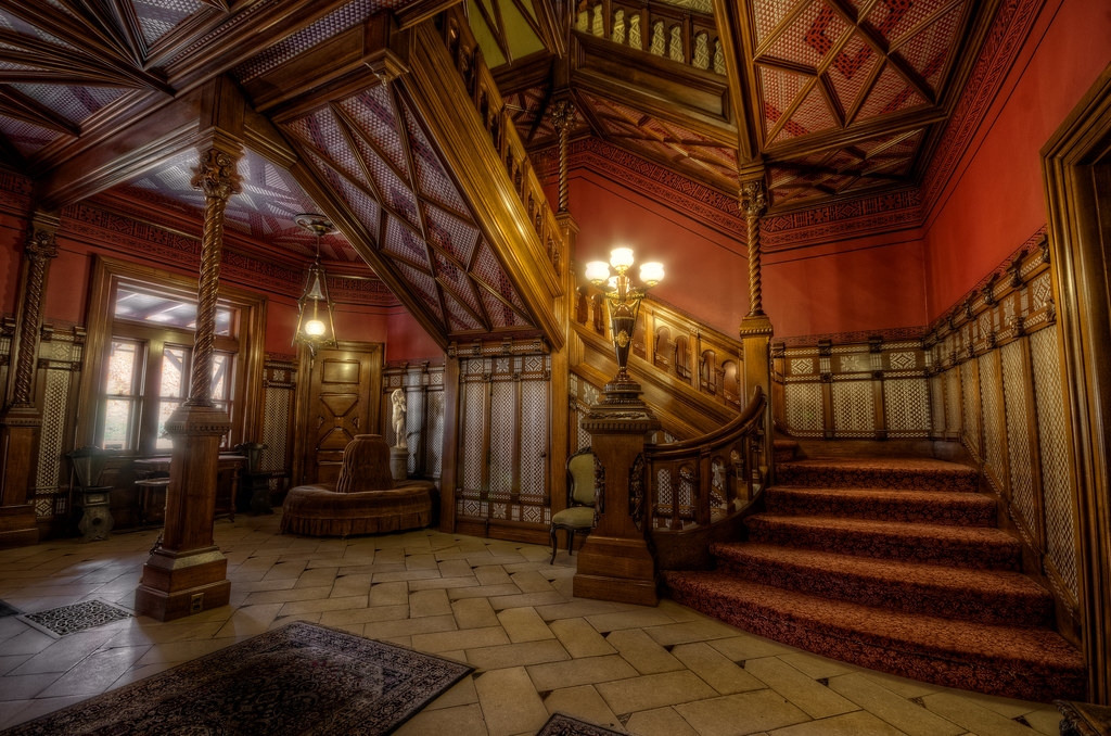 Wonderful ... The Mark Twain House Entrance Hall | By Frank C. Grace (Trig  Photography)