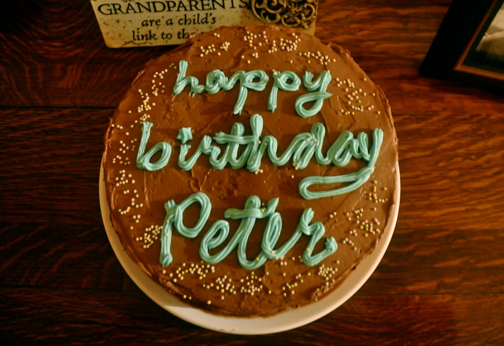 Happy Birthday Peter Cake
