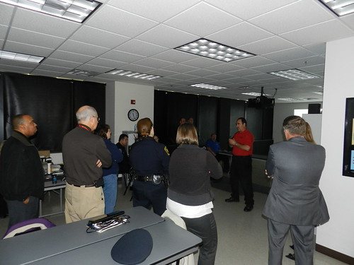 Beckfield College Firearms Training Simulator Demo Nov 14