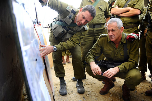 IDF Chief of Staff Lt. Gen. Benny Gantz in Situational Assessment in Southern Israel | by Israel Defense Forces