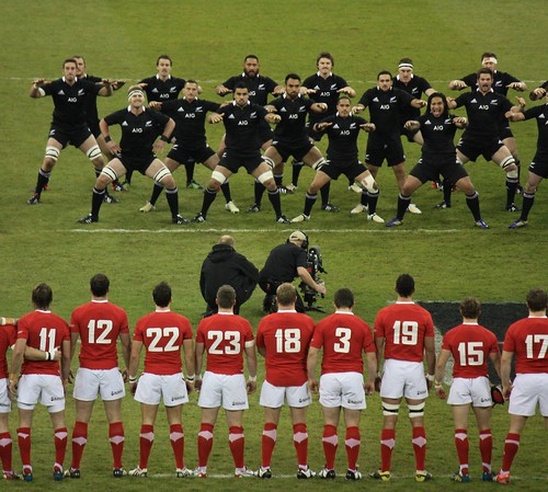 Old Black Rugby Dance: New Zealand Rugby Team Haka