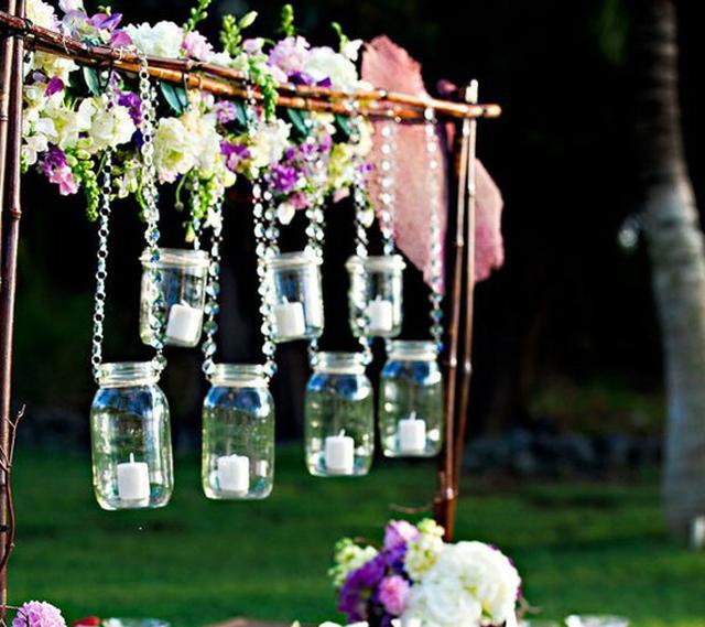 Cute Wedding Decoration Ideas: Cute-outdoor-wedding-reception-decoration-ideas