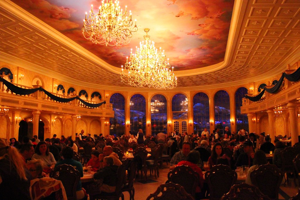 Be Our Guest restaurant   Ricky Brigante   Flickr