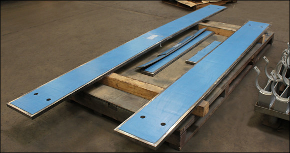 Ptfe Slide Plates Designed For A Refinery In Louisiana