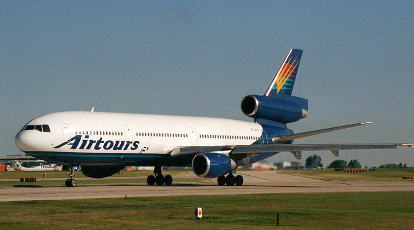 Airtours Dc10 August 27th 2001 Manchester Airport This Sma Flickr