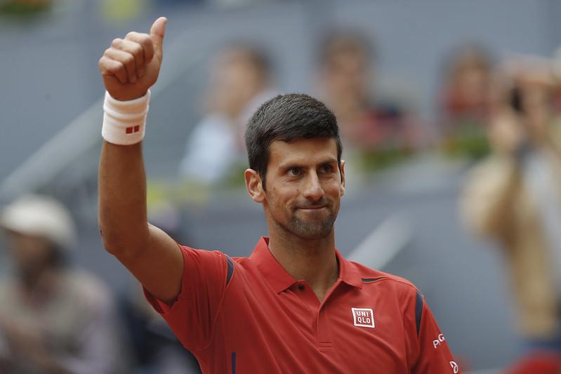 Novak Djokovic氣勢正旺,是ATP年終賽奪冠最大熱門。(達志影像資料照)