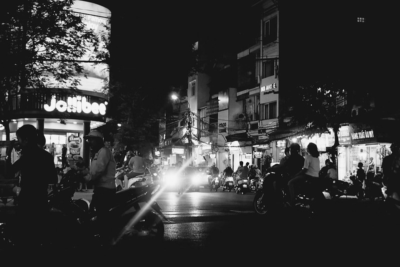 first night in hanoi