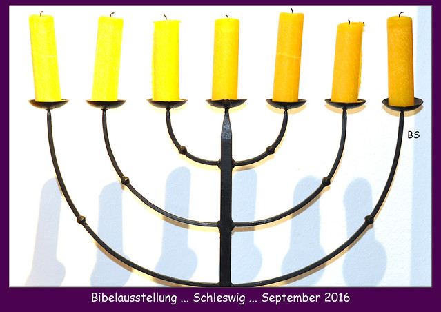 Schleswig - St. Johannis-Kloster - Bibelgarten - Bibelausstellung ... Fotos und Fotocollagen: Brigitte Stolle, September 2016