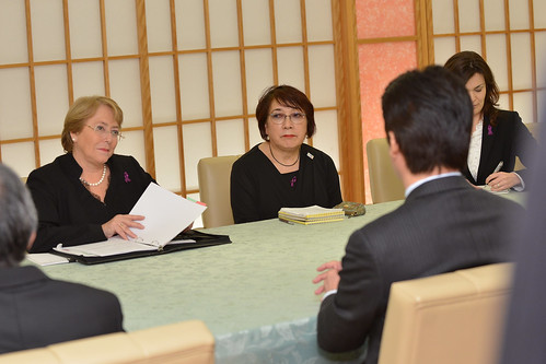 UN Women Executive Director Michelle Bachelet meets with Minister of Foreign Affairs | by UN Women Gallery