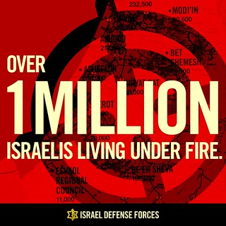 Infographics: Over 1 Million Israelis Living under Fire | by Israel Defense Forces