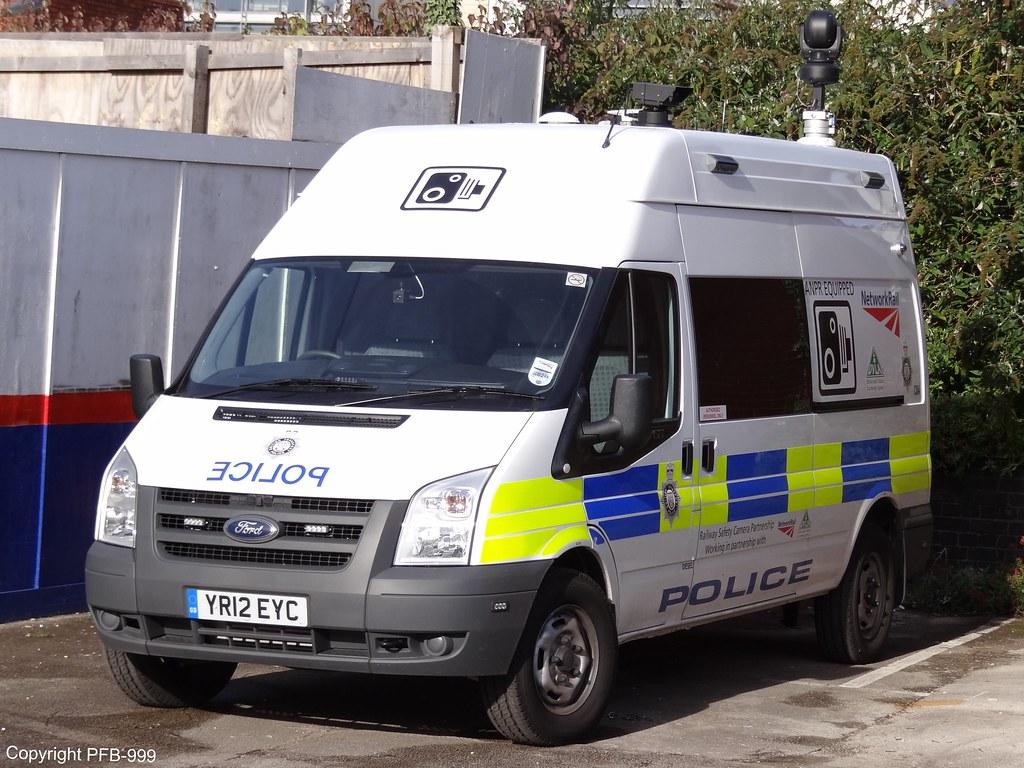british transport police ford transit mobile cctv unit c84. Black Bedroom Furniture Sets. Home Design Ideas