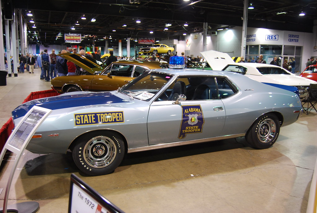 72 Alabama State Police Javelin Pursuit Car  The CHP loves  Flickr