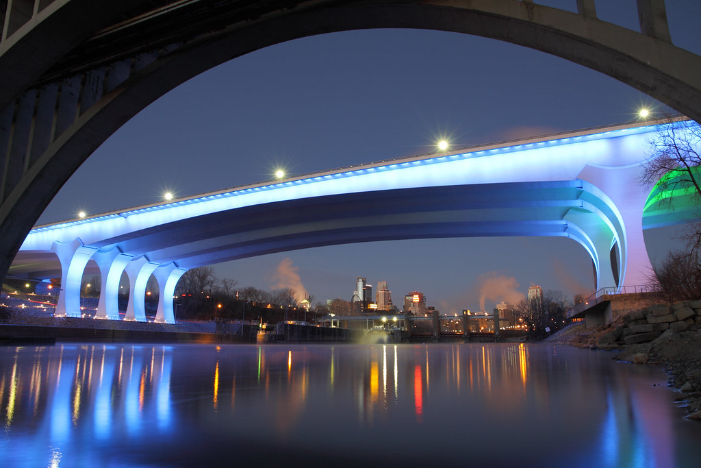 I 35w Bridge Mississippi River Minneapolis Mn Ken