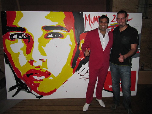 Lewis Hamilton Painting Live Painting Amb Lewis