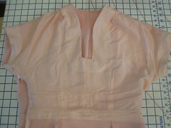 Lined Upper Bodice
